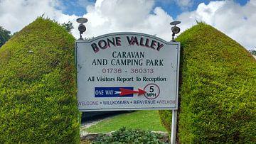 Bone valley camping in Cornwall van Wilbert Van Veldhuizen