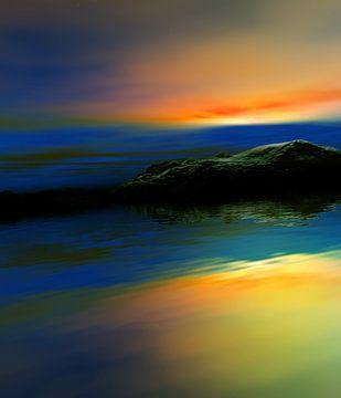 Sonnenuntergangsfarben 8 von Angel Estevez