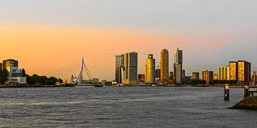 skyline von rotterdam von Arend van der Salm