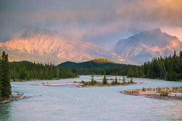 Icefields parkway Canada sur Ilya Korzelius