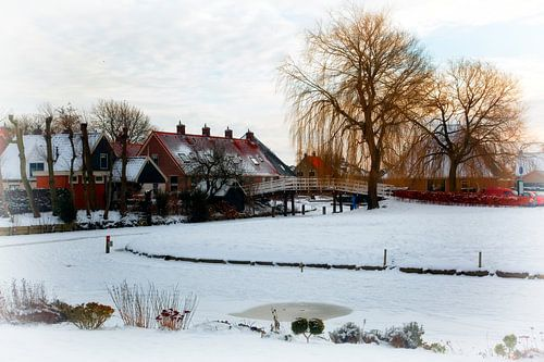 Sneeuw in De Rijp