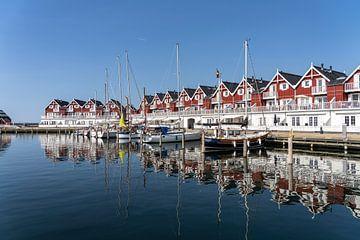 Haven van Bagenkop, Langeland, Denemarken van Peter Schickert