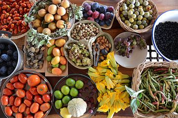 Fruittafel van Eden van Borgo San Bernardo