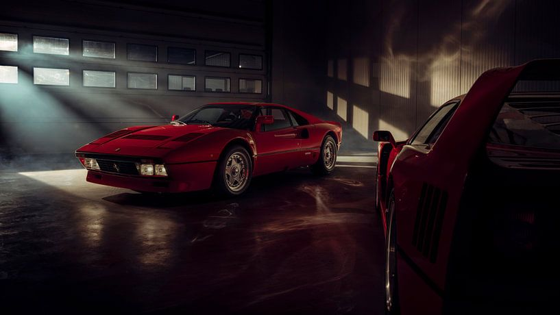 The Ferrari Big 5 - Ferrari 288 GTO by Gijs Spierings sur Gijs Spierings