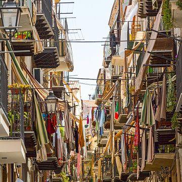 Italiaans straatgezicht (dorps) van Rob Hermanns Photography