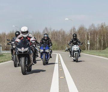 Motorcycle crew holland sur Westland Op Wielen