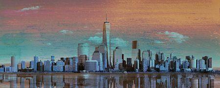 11. Stadtkunst, NY, Manhattan 4 von Alies werk