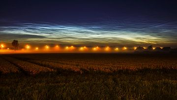 Lichtende nachtwolken sur