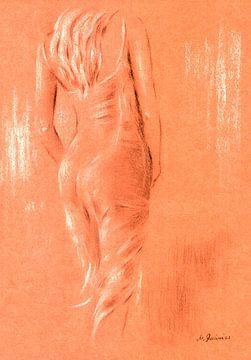 Rood en erotische - erotische kunst van
