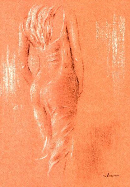Rood en erotische - erotische kunst van Marita Zacharias