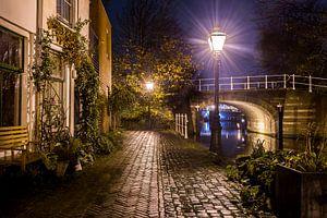Leiden bij avond
