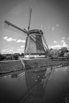 De Westbroekse Molen in Oud Zuilen van Michel Geluk