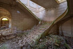 stair ruine trappenhal