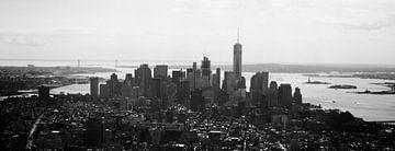 New York City, Lower Manhattten van M van Egmond