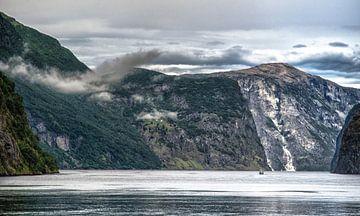 Boottocht door het Aurlandsfjord von Karin Mooren