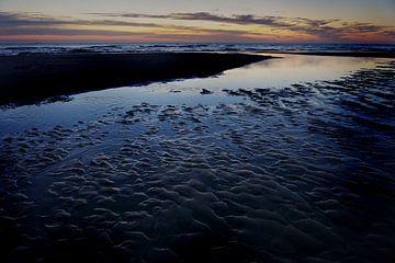 Sonnenuntergang Zandvoort aan Zee von Jan van de Laar