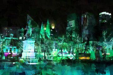 Den Haag in de avonduren van
