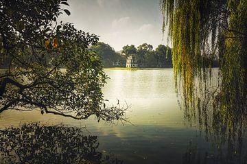 Hoan Kiem meer in Hanoi van Joris Pannemans - Loris Photography