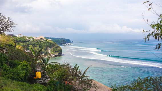 Bingin beach, Bali van Andy Troy
