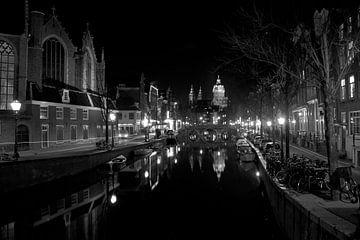 Amsterdam black & white von Monique Struijs