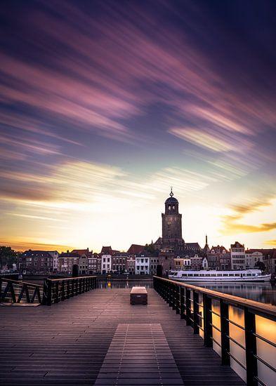 zonsopgang Deventer van Martijn van Steenbergen