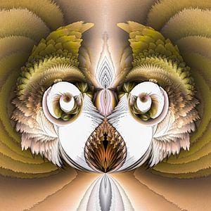 Phantasievolle abstrakte Twirl-Illustration 97/19