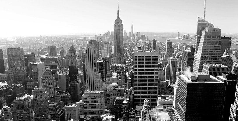 New York Black and White van Ferry Krauweel