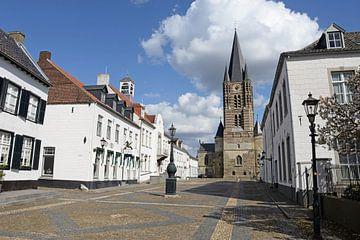 Die weiße Stadt Thorn in Limburg, Niederlande von Koolspix