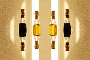 Olie en azijn van