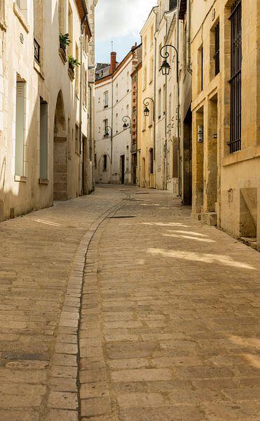Gebogene Strasse in Orleans von Daan Kloeg