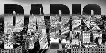Paris an der Saine von Bass Artist