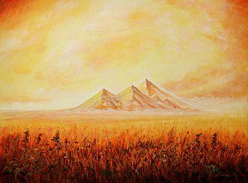 peak hills van Silvian Sternhagel