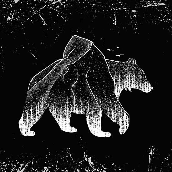 Bär Braunbär Grizzlybär Wald