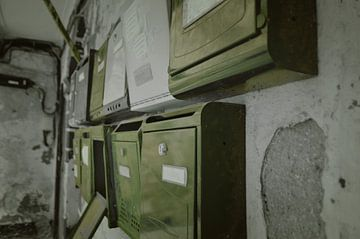 Oude brievenbussen | Cadiz, Spanje van Coco Gonzalez