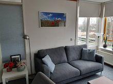 Kundenfoto: Mohnpanorama von Ostsee Bilder, als gerahmtes poster