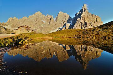 Baita Segantini en Pale di San Martino - Trentino-Alto Adige - Italiië van Felina Photography