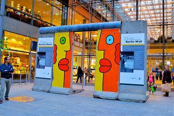 Berlijnse muur  als kunst  van Freddie de Roeck