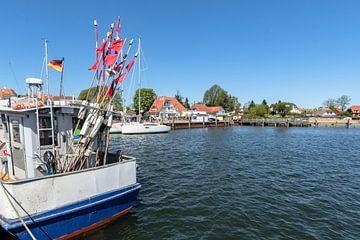 Viskotter, haven van Bregge, Rügen van GH Foto & Artdesign