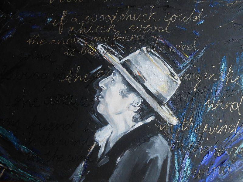 Bob Dylan - Blowing in the wind van Lucia Hoogervorst