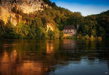 Das Tal der Dordogne von Steven van Zoelen