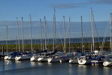 le port de plaisance de Colijnsplaat sur l'île de Walcheren, dans la province de Zélande, aux Pays-B sur Robin Verhoef