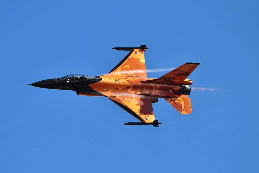 F-16 Fighting Falcon van Rogier Vermeulen