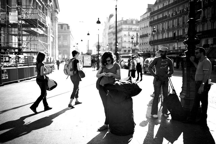 Gare du Nord van Ties van Veelen