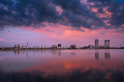 Nesselande in Flammen von Prachtig Rotterdam