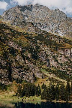 Berge, See und Wasserfall in Österreich von Yvette Baur