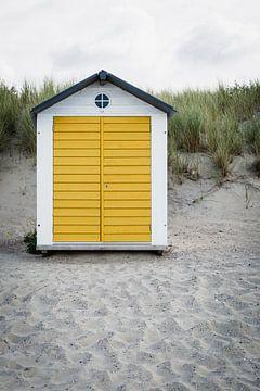 Strandcabine - Cadzand van Mister Moret Photography
