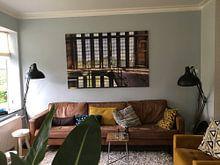 Kundenfoto: Symmetrie Fenster von Sven van der Kooi, auf leinwand