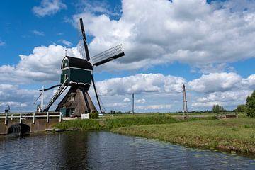 schöne Mühlenlandschaft in den Niederlanden. Unesco-Website. von Tjeerd Kruse