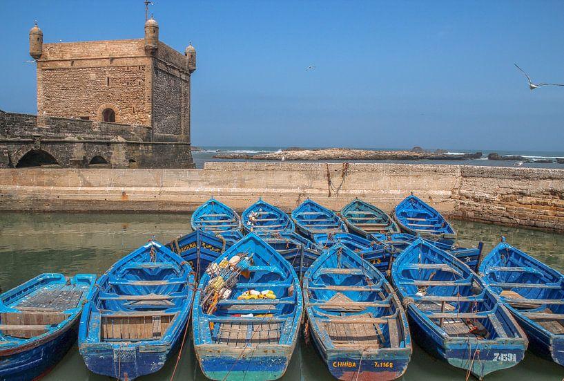 Vissersbootjes Essaouira (Marokko) van Tux Photography