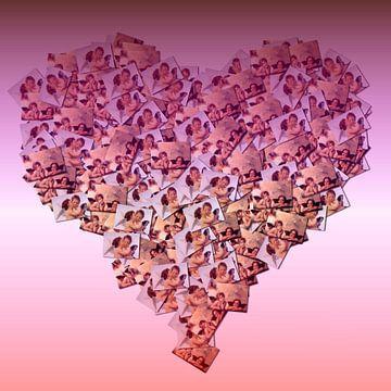 Herz-Collage von Fotos von Atelier Liesjes